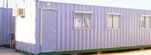 Módulos para implementación de campamentos