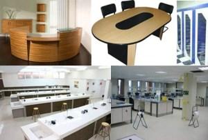 Muebles en Melamina para Oficinas 4