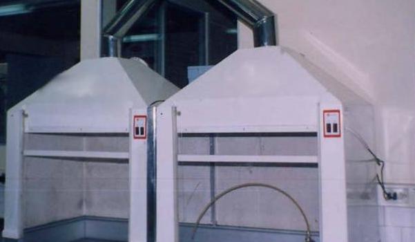 Campanas para Extracción de gases