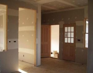 Construcción de Paredes y Techos en Sistema Drywall