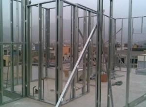 Construcción de Paredes y Techos en Sistema Drywall 5