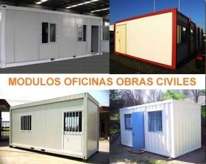 Módulos Oficinas obras civiles