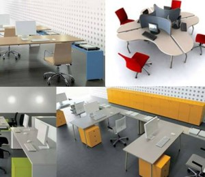 Muebles en Melamina para Oficinas 3