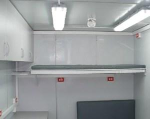 Unidad Cabina Laboratorio para Control de sólidos