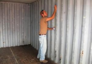 pintado de contenedores